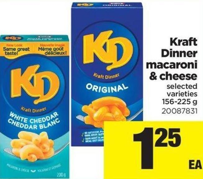 Kraft Dinner Macaroni & Cheese - 156-225 g