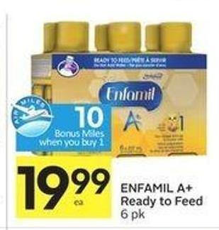 Enfamil A+ Ready To Feed - 10 Air Miles