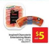 Inspired Charcuterie Entertaining Meats