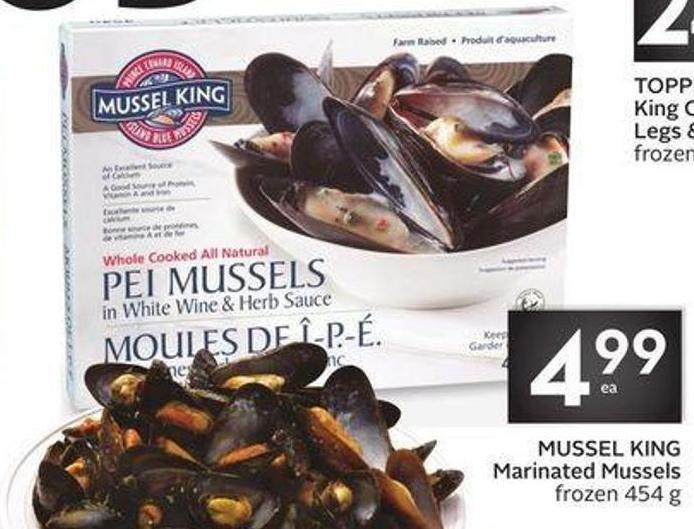 Mussel King Marinated Mussels