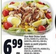 Store Made Chicken Salads | Salades Au Poulet Préparées En Magasin