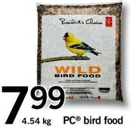 PC Bird Food - 4.54 Kg