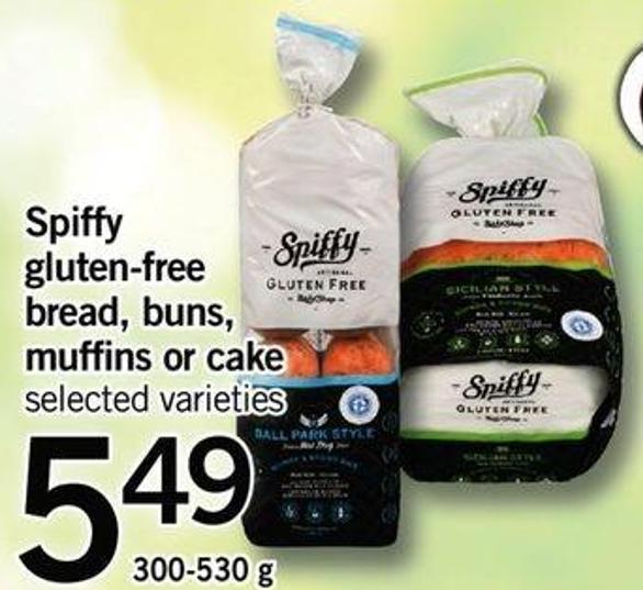 Spiffy Gluten-free Bread - Buns - Muffins Or Cake - 300-530 G