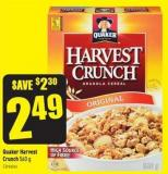 Quaker Harvest Crunch 560 g
