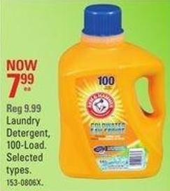 Laundry Detergent - 100-load