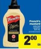 French's Mustard 325 ml