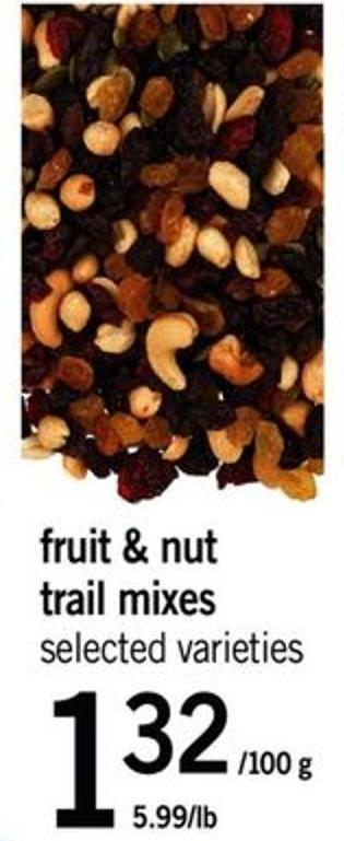 Fruit & Nut Trail Mixes