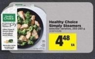 Healthy Choice Simply Steamers - 255-283 g