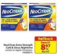 Neocitran Extra Strength Cold & Sinus Nighttime