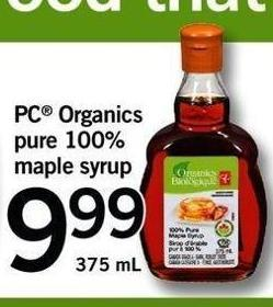 PC Organics Pure 100% Maple Syrup