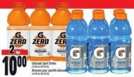 Gatorade Sport Drinks 6 X 591 ml - Or $5.99 Ea.