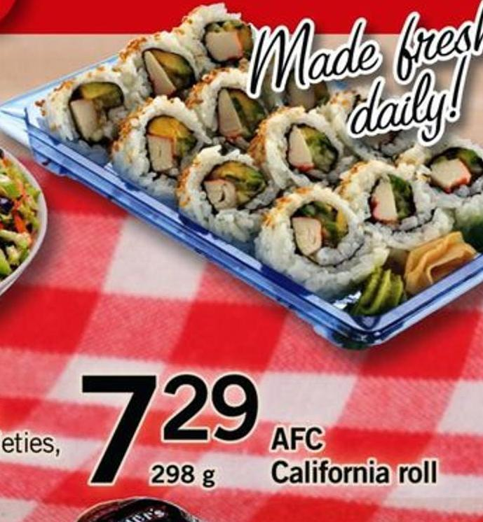 Afc California Roll