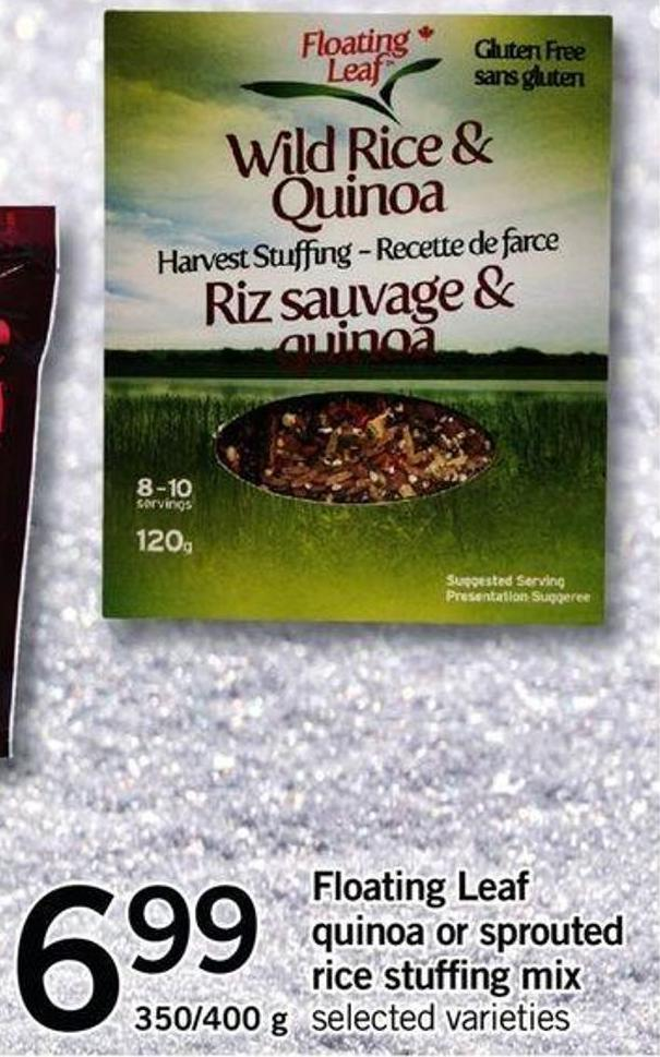 Floating Leaf Quinoa Or Sprouted Rice Stuffing Mix - 350/400 G