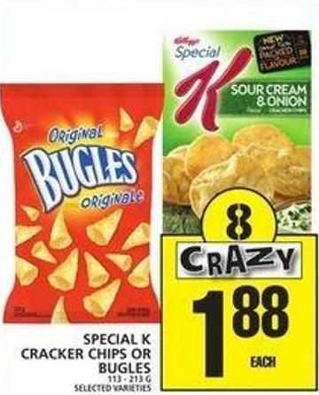 Special K Cracker Chips Or Bugles