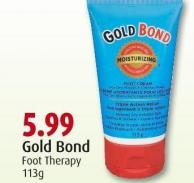 Gold Bond Foot Therapy 113g