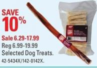 Paws Up! Selected Dog Treats