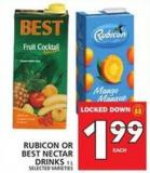 Rubicon Or Best Nectar Drinks