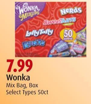 Wonka Mix Bag - Box