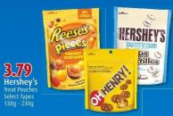 Hershey's Treat Pouches