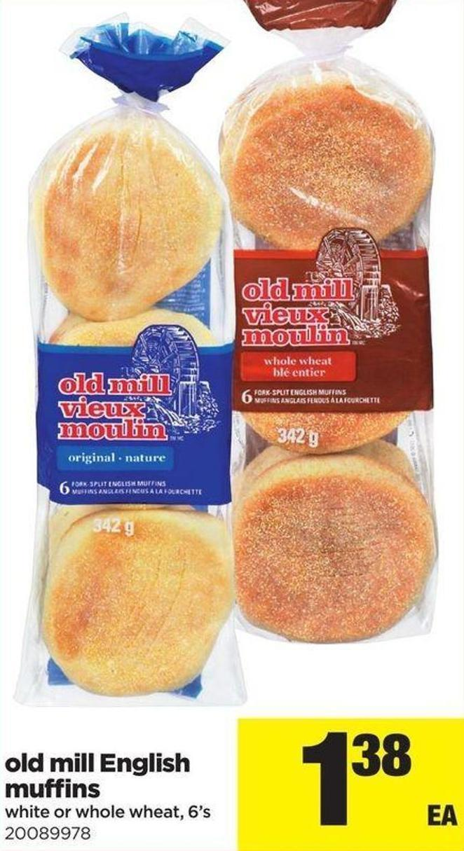 Old Mill English Muffins - 6's