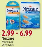 Nexcare Wound Care Select Types