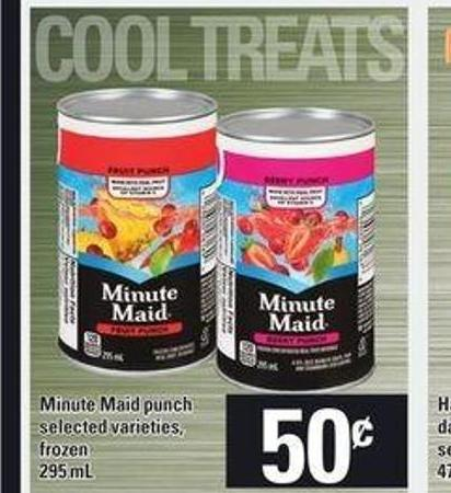 Minute Maid Punch - 295 mL