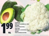 Cauliflower Or Avocados