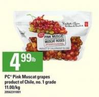 PC Pink Muscat Grapes