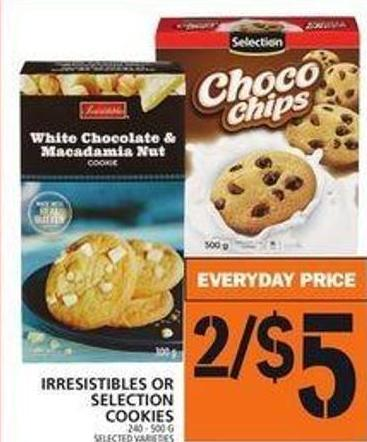 Irresistibles Or Selection Cookies