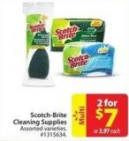 Scotch-brite Cleaning Supplies