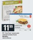 PC - Free From Savoury Pies - 800/900 g