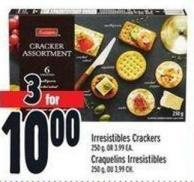 Irresistibles Crackers