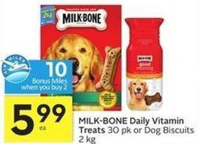 Milk-bone Daily Vitamin Treats
