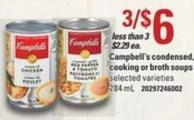 Campbell's Condensed - Cooking Or Broth Soups - 284 Ml