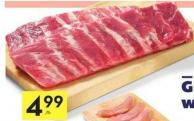 Fresh Pork Side Ribs Regular Cut 11.00/kg