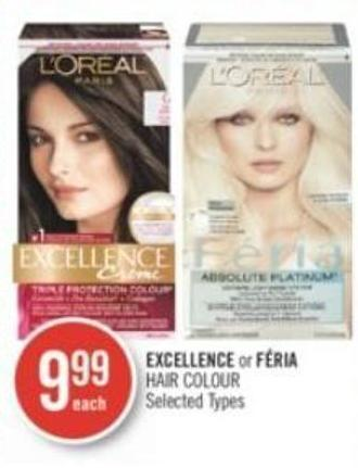 L'oreal Excellence or Féria Hair Colour
