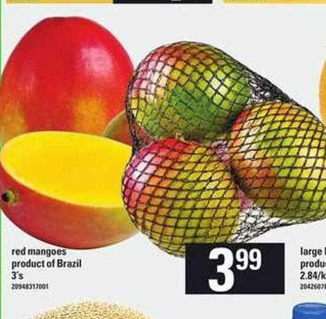 Red Mangoes - 3's