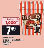 Nestle Turtles Original Or Assorted Box - 300-350 g