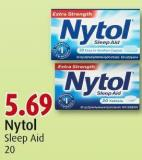 Nytol Sleep Aid 20