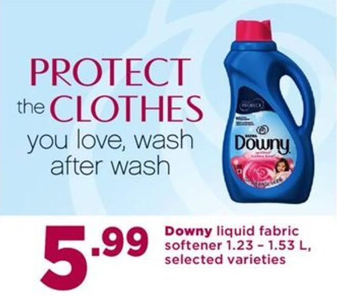 Downy Liquid Fabric Softener - 1.23 – 1.53 L