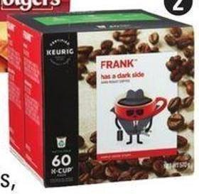 Dark Roast K-cup Pods - 60-count