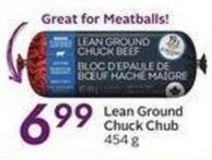Lean Ground Chuck Chub 454 g