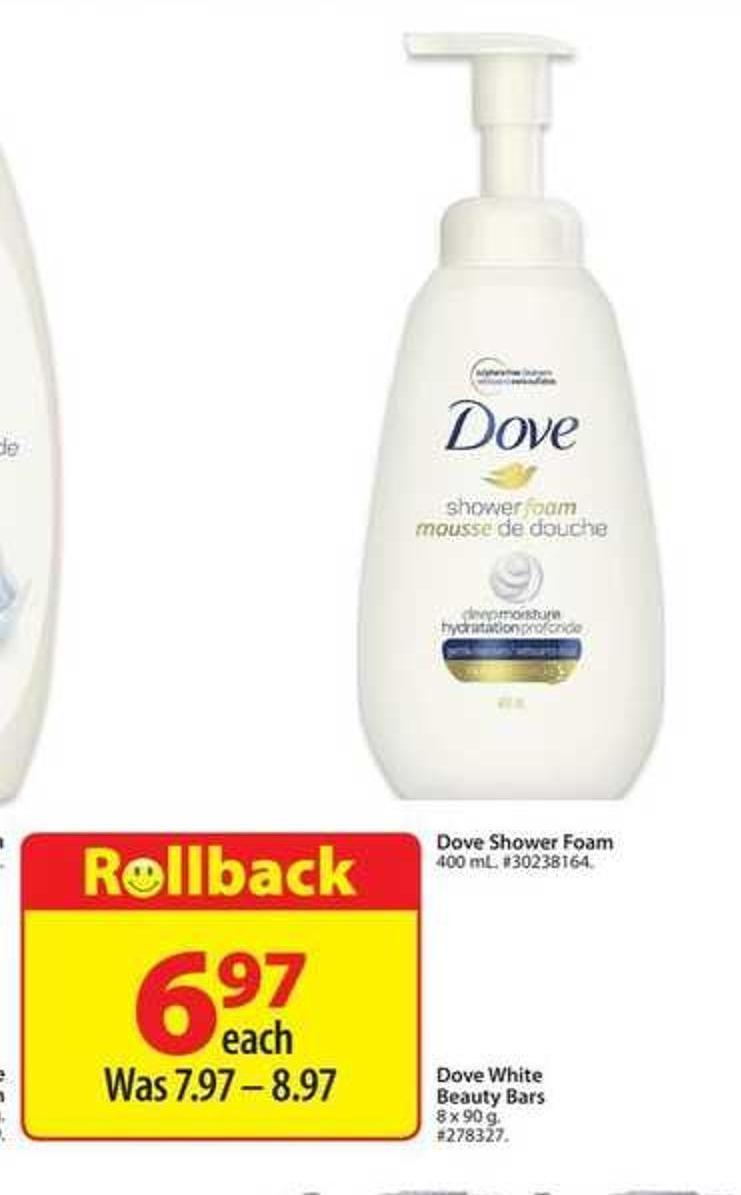 Dove Shower Foam