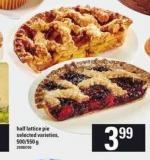 Half Lattice Pie - 500/550 g