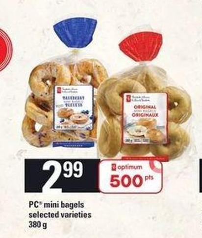 PC Mini Bagels - 380 G