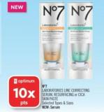N°7 Laboratories Line Correcting Serum - Resurfacing or Cica Skin Paste