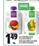 Love Child Baby Purée | Purée Pour Bébés Love Child