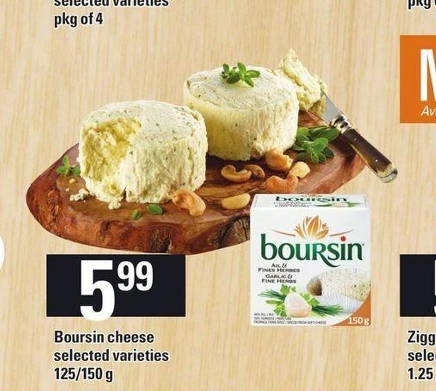 Boursin Cheese - 125/150 g