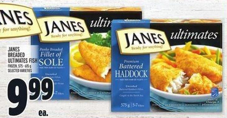Janes Breaded Ultimates Fish