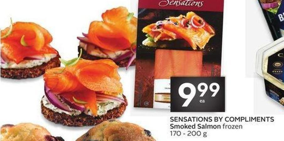 Sensations By Compliments Smoked Salmon